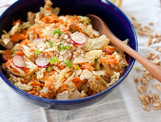 Peanut, Carrot and Cabbage Slaw - Perfect for a #picnic #barbeque #gardenparty @anappealingplan
