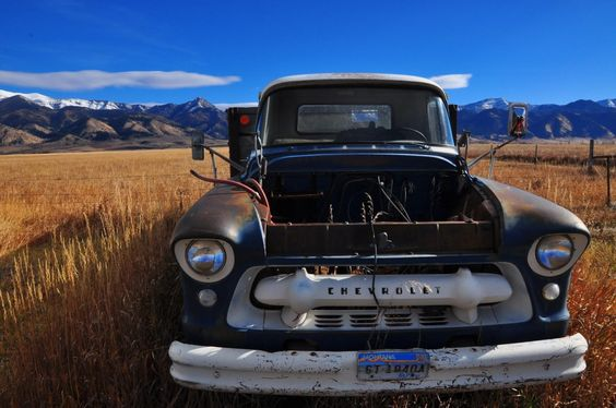 Montana truck, by Shannon Outing