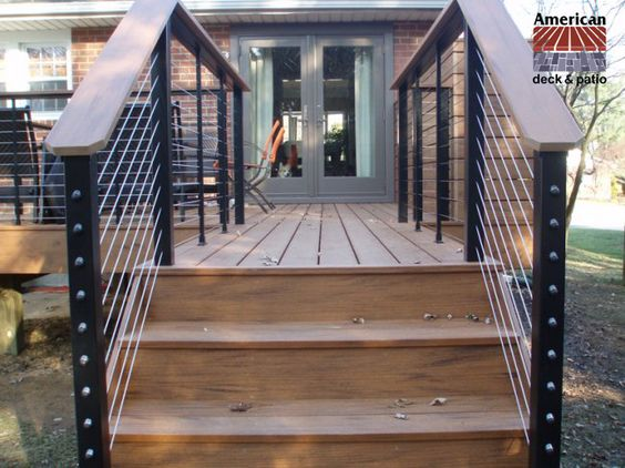 Best Cable Railing Beautiful Timbertech Earthwoods Composite 400 x 300