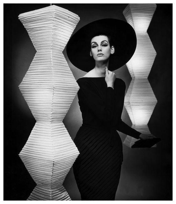"""F.C. Gundlach  - """"Studio in Luce scura"""", Model Judy Dent – Heinz Oestergaard designer 1962"""
