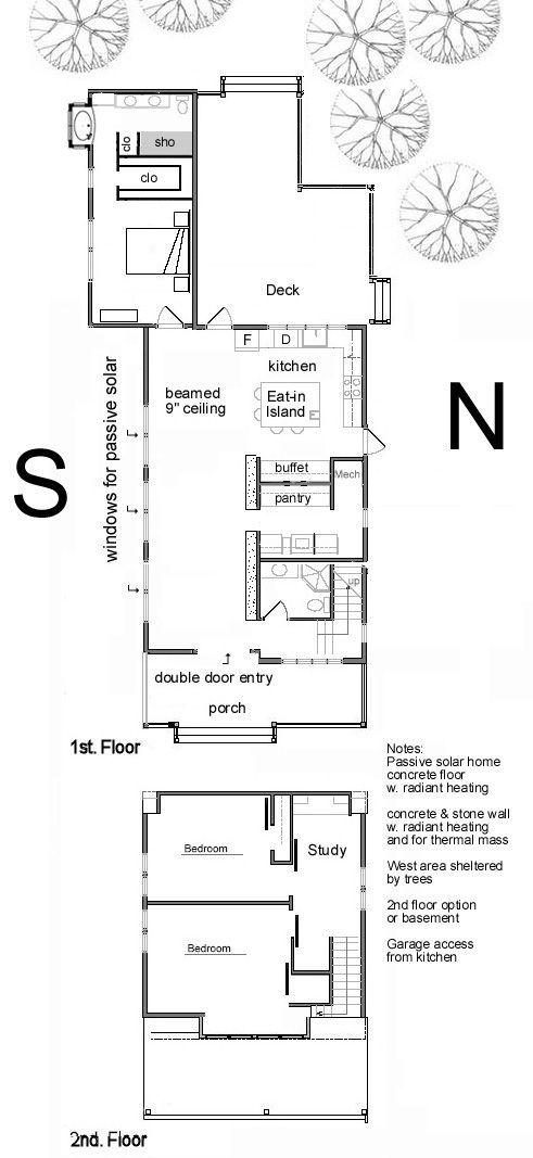 Passive Solar House Layout Customized Idea 1 Passive Solar Homes Passive Solar Design Passive Solar