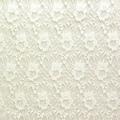 Special Occasion Fabrics - Windsor Lace II Fabric in Ivory