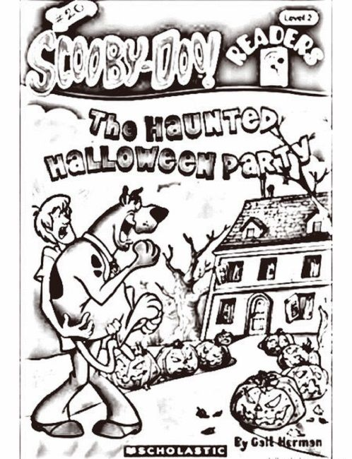 Pinterest the world s catalog of ideas for Scooby doo halloween coloring pages