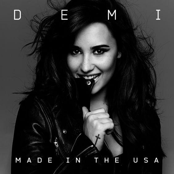 Demi Lovato – Made in the USA (single cover art)