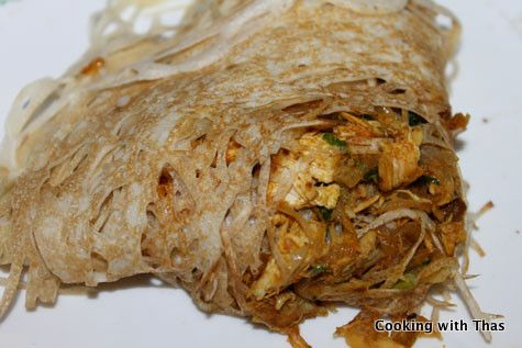 chicken stuffed Malaysian Net Crepes | Indian Recipes | Pinterest ...