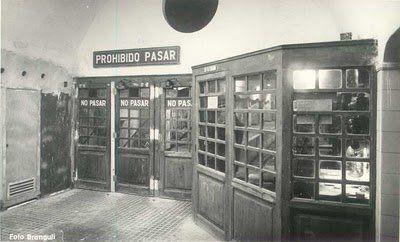"""BARCELONA --- Las estaciónes fantasma... de Metro """"Gaudí"""" 1924-1926...17 DE ABRIL 2011."""