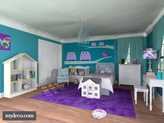 3 Year Old Girl Rooms Little Girl S Owl Room 5 Likes Alleypea Created 3 Years Ago Remix
