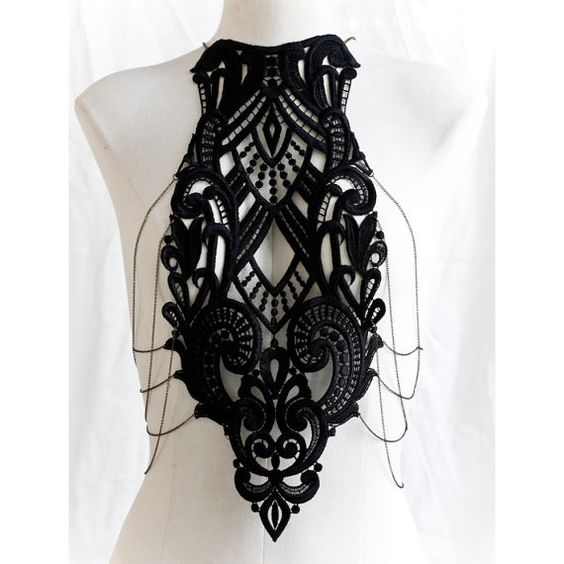Crochet and chain harness