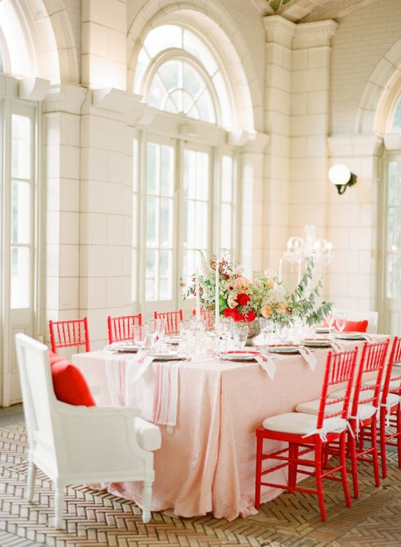 How to Add a Pop of Color to Your Wedding
