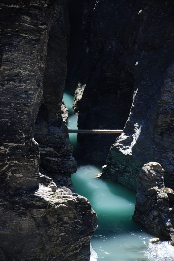 Schlucht Viamala im Kanton Graubünden, Schweiz