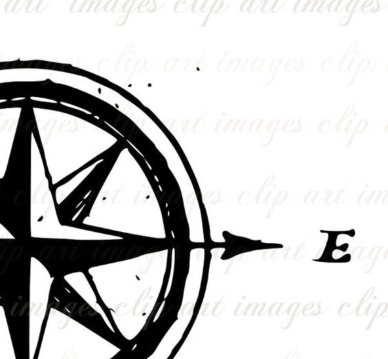 Compass Rose Royalty Free Grungy designers by ImagesClipArt