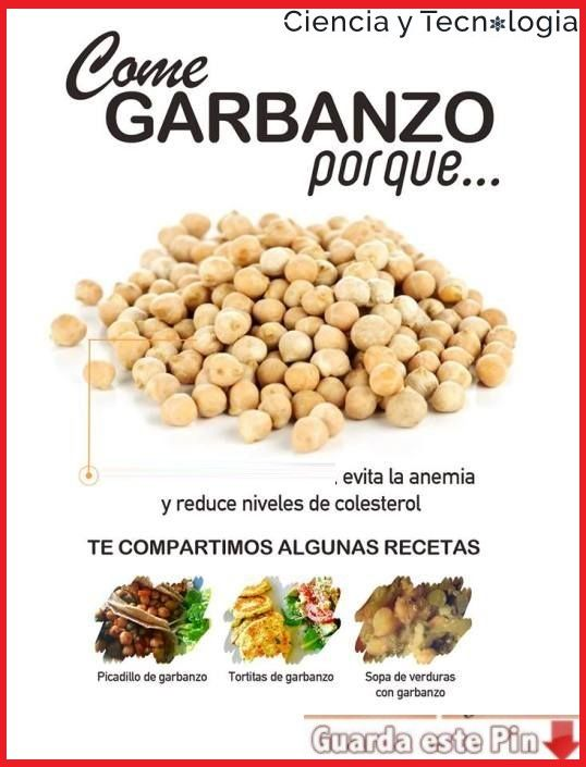 13 Beneficios De Comer Garbanzos Beneficios De Alimentos Alimentos Saludables Frutas Y Verduras Beneficios