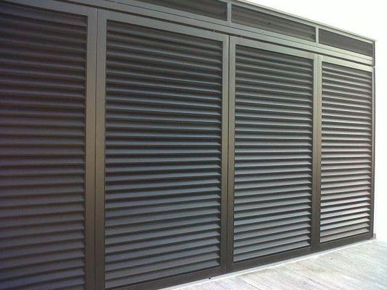 Porton herreria minimalista buscar con google terraza - Porton de garaje ...