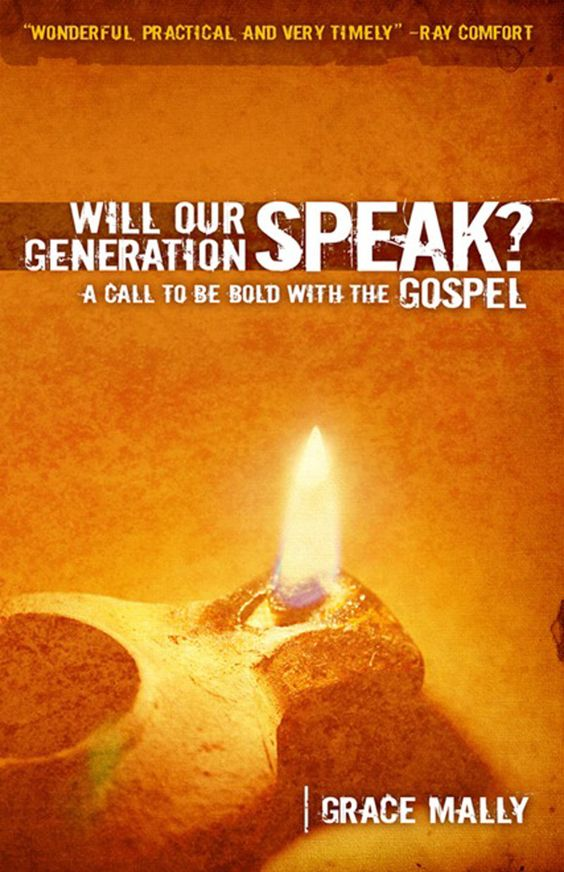Will Our Generation Speak? REALLY good book, highly reccomend!