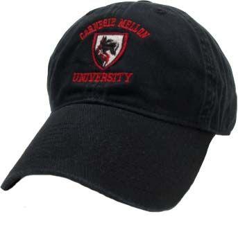 Scotty Shield Hat: Black Size Large