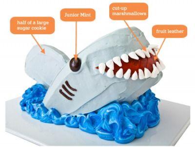 shark week cake!