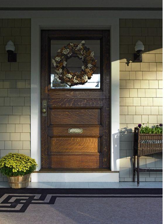 Salt marsh doors and front doors on pinterest for What is the trim around a door called