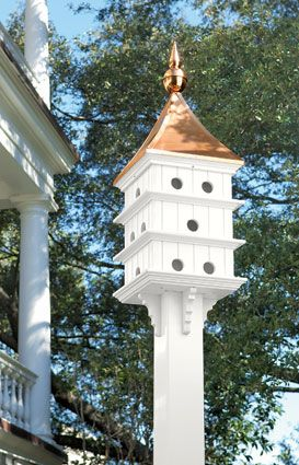 Beauty in the Garden | Purple Martin House
