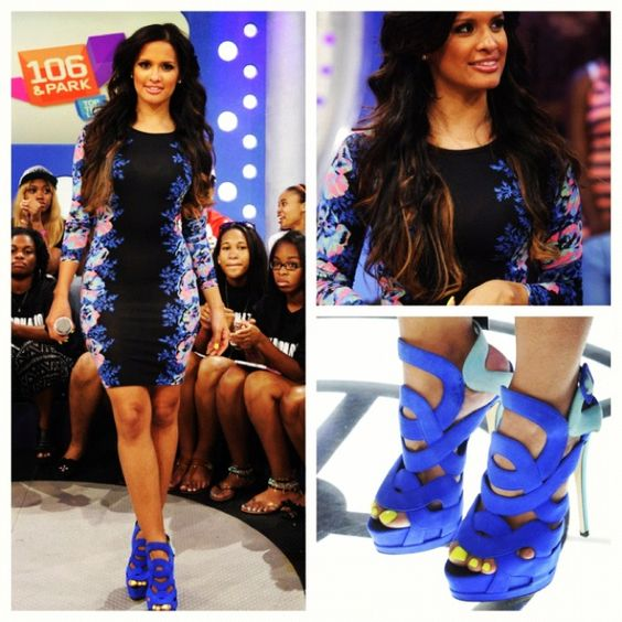 Rocsi's Runway look for 8.8.12 dress by @Topshop shoes by @GZanottiDesign #rocsi #fashion #dress #shoes #heels #106andpark