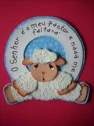 Plaquinha de ovelha