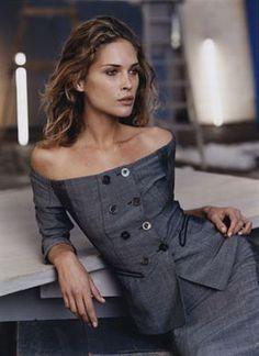 catherine McNeil by Mario Testino for Donna Karan FW 2007 _ - Cerca con Google