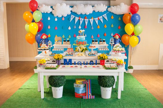 Festa Ursinho Paddington | 1 ano do Miguel
