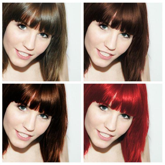 Welche haarfarbe passt zu mir