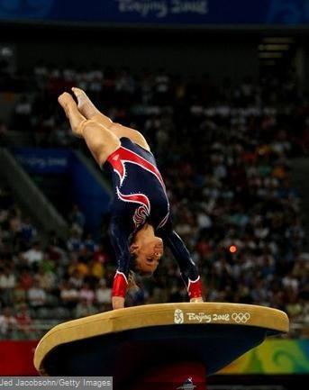 Shawn Johnson Olympics Vault