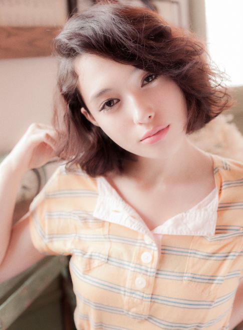BOB  【ELLE est BELLE】 http://beautynavi.woman.excite.co.jp/salon/27183?pint ≪ #bobhair #bobstyle #hairstyle #bobhairstyle・ボブ・ヘアスタイル・髪形・髪型・外国人風≫