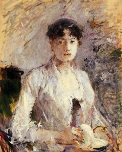 Berthe Morisot (French artist, 1841-1895). Young Woman in Mauve