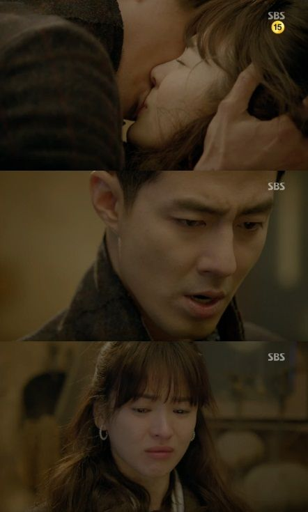 """That Winter, The Wind Blows"" Song Hye Kyo and Jo In Sung's Passionate Kiss as Lovers"