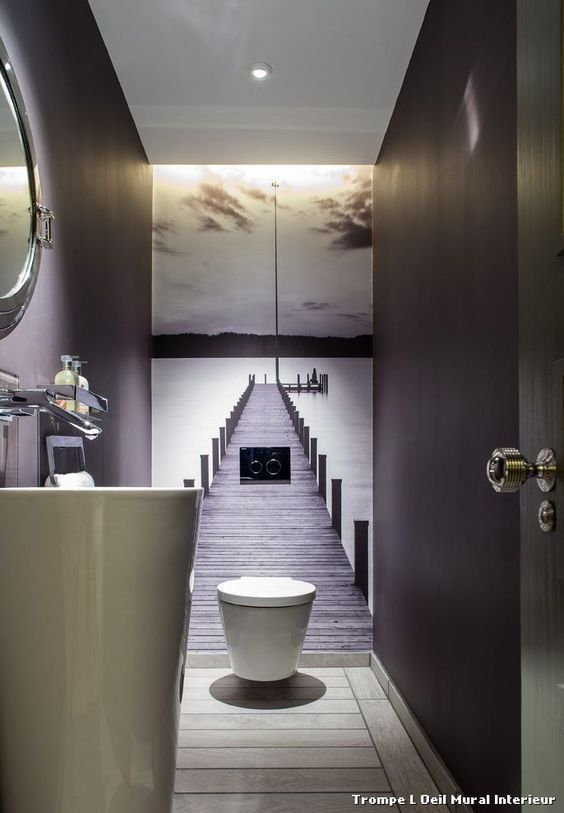 20 Moderne Badezimmer Mit An Der Wand Befestigten Toiletten