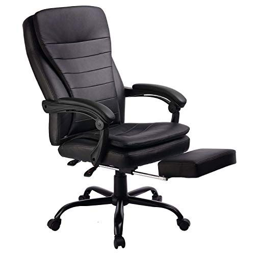 Gtp Office Chair Ergonomic Design High Back Pu Leather Chair