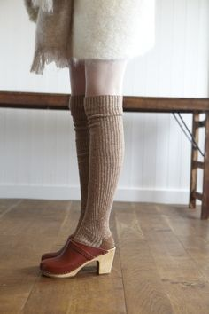 socks with clogs - Google Search