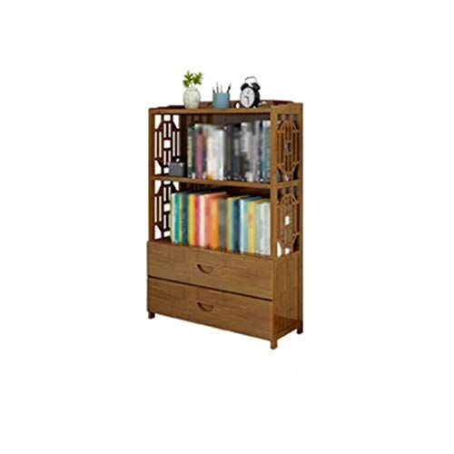 Rhysf Bookcase Bookcase With 2 Drawers File Cabinet Modern Minimalist Multi Layer Bookshelf Open Storage Cabinet Bookcase 2 Drawer File Cabinet Filing Cabinet