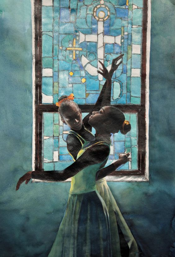 Praise Dancing / Stephen Scott Young  http://www.stephenscottyoung.org/: