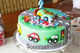 Tut Tut Torte Kinder Geburtstag Torte Torte Kindergeburtstag Ohne Fondant Kindergeburtstagstorte