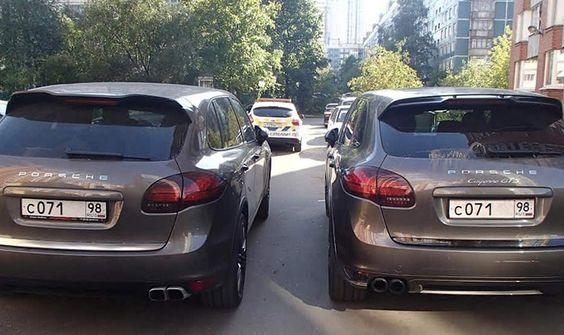 Машины – двойняшки