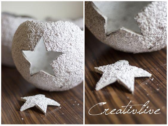 creativLIVE: DIY Sphärenlicht aus Pappmache