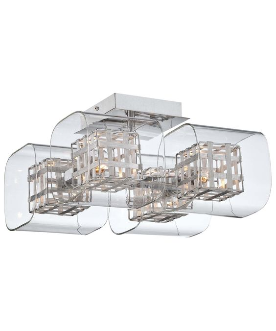 Kovacs P802 Jewel Box 12 Inch Semi Flush Mount| Capitol Lighting 1-800lighting.com