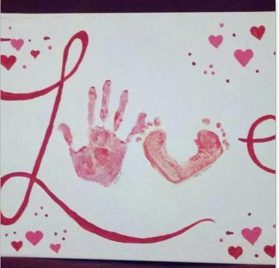 Hand/foot prints