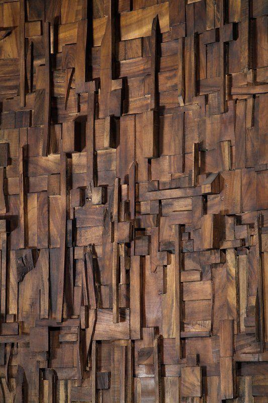 Natural parota wood detail murales de madera - Murales de madera ...
