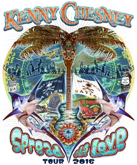 Spread The Love – Kenny Chesney - Kenny Chesney