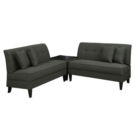 Found it at Wayfair - Bayonet Sectional in Pepper