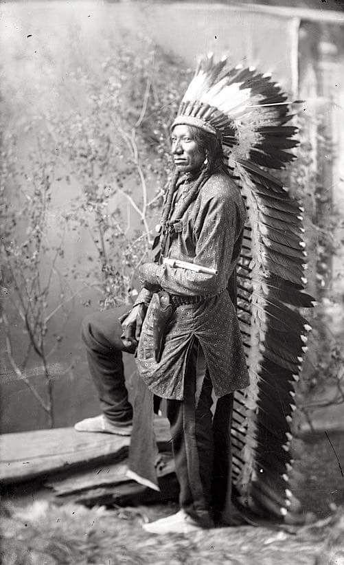 Buffalo Wallow. Arapaho. 1898