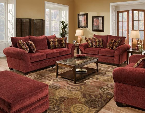 Best Burgundy Living Room Furniture Color Burgundy Home 400 x 300