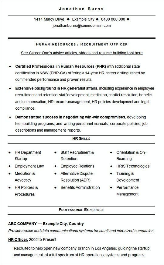 Sample Cv Template Hr Recruitment Hiring Manager Resume The Hr Team Is Fantastic Are You The Peop Human Resources Resume Hr Resume Sample Resume Templates
