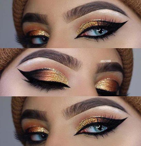 افخم واروع مكياج عيون للمناسبات والحفلات 2019 Amazing And Beautiful Eye Makeup Ideas Cat Eye Makeup Eye Makeup Techniques Dramatic Eye Makeup