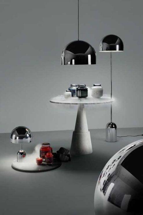 Tom Dixon S Bell Pendant Floor Lights Beautiful Lighting British Furniture