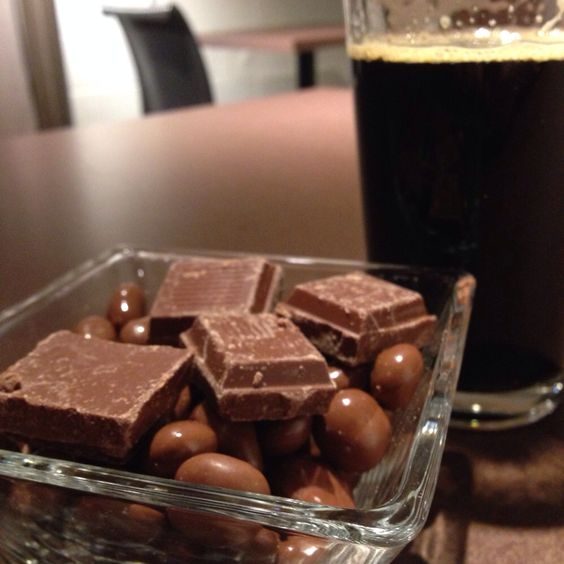 Propeller Revolution Russian Imperial Stout with a chocolate bowl!
